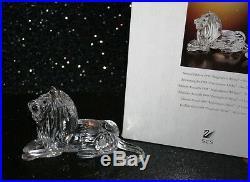 SWAROVSKI annual edition 1995 INSPIRATION AFRICA THE LION with original box