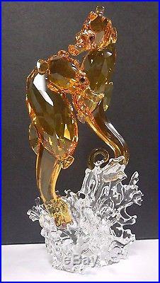 Seahorse Couple Sea Life Seahorses 2016 Swarovski Crystal #5216032