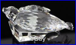 Signed Retired Swarovski SCS Austria Seal Save Me 1991 Crystal Figurine NR MBH