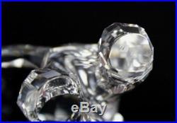 Signed Swarovski Austria Mother Bear 866263 Silver Crystal Figurine w Box NR JWD