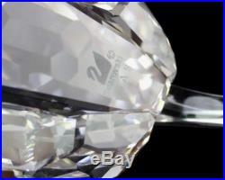Signed Swarovski Lion Inspiration Africa 1997 Retired Crystal Figurine NR MBH