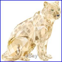 Sofia (annual) And Amur Leopard Cubs Scs 2019 Swarovski Crystal 5428541 5428542