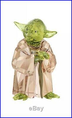 Star Wars Master Yoda Swarovski 5393456 Brand New