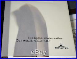 Swarovski 1995 Limited Edition Crystal Figurine EAGLE With Stand #301/10000