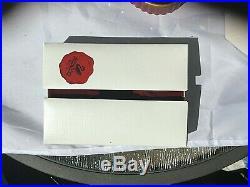 Swarovski 2001 Harlequin Crystal Figurine With Plaque