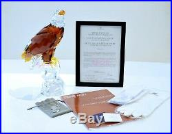 Swarovski 2011 Numbered Limited Edition Bald Eagle Rare Brand New in Box