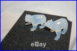Swarovski 2011 Polar Bear Cubs White Opal 1080774