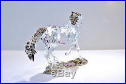 Swarovski 2014 SCS Annual Edition Horse Set 5004728 5004729 Brand New In Box