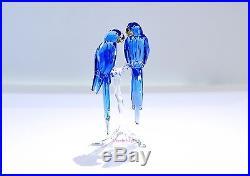 Swarovski 2014 SCS Hyacinth Macaws Blue Bird 5004730 Brand New In Box