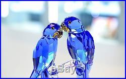 Swarovski 2014 SCS Hyacinth Macaws Blue Exotic Bird 5004730 Brand New In Box