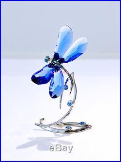 Swarovski 2014 SCS Limited Edition Blue Dragonfly 5004731 Brand New In Box