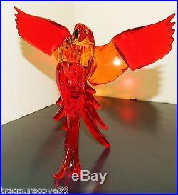Swarovski 2015 Red Parrots #5136809 Stunning Item Bnib