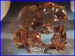 Swarovski 2017 Scs Bear Arcadia & Bear Cubs Free Shipping And Insurance