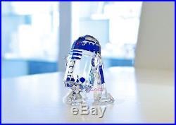 Swarovski 2017 Star Wars C-3PO R2-D2 BB8 Full Set Brand New In Box 5290214
