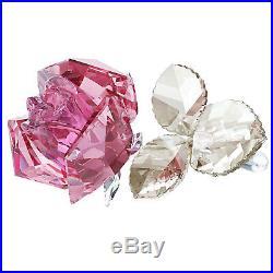 Swarovski #5094612 Blossoming Rose, Light Pink Brand New In Box Flower Love Save$