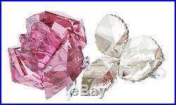 Swarovski 5094612 Blossoming Rose, Light Rose Crystal Figurine Authentic MIB