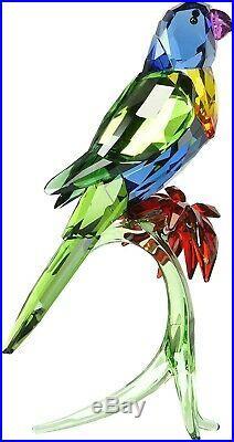 Swarovski (5136832) Rainbow Lorikeet Bird Clear Crystal Figurine