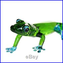 Swarovski (5275511) Gecko Green And Blue Crystal Figurine