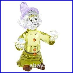 Swarovski (5428558) Disney Snow White Seven Dwarfs Dopey Crystal Figurine
