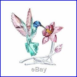 Swarovski #5461872 Crystal Hummingbird Figurine Brand Nib Bird Base Save$ F/sh