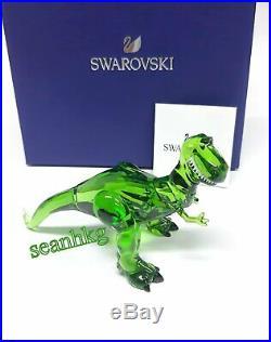 Swarovski 5492734 Disney Toy Story Rex, Tyrannosaurus Green Crystal Authentic