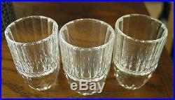 Swarovski #7468nr039055 Set Of 3 Schnapps Glasses Brand Nib Shot Glass Rare F/sh