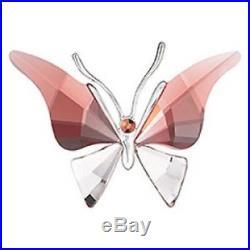 Swarovski Alava Padparadscha Butterfly Very Rare Retired 861936 Mib Coa