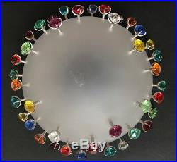 Swarovski Apollo Bowl Borek Sipek Colored Crystals With Box
