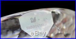 Swarovski Austria Bird Bath Feathered Beauty Colored Gems Crystal Figurine MBH