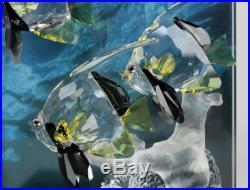 Swarovski Austria Community Wonders Of The Sea Angel Fish Crystal Plaque NR JWD