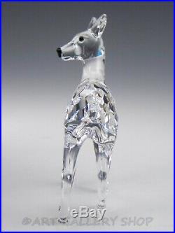 Swarovski Austria Crystal Figurine #247963 DOE DEER ANIMAL Mint Box COA