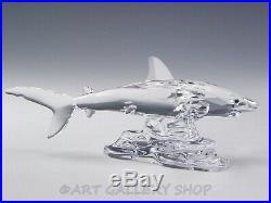 Swarovski Austria Crystal Figurine #269236 BABY SHARK Mint Box & COA