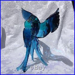 Swarovski BLUE PARROTS BRAND NEW in BOX 5136775 CRYSTAL FIGURINE BIRD