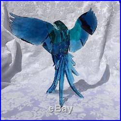 Swarovski Blue Parrots Brand New In Box 5136775 Crystal