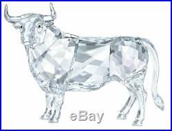 Swarovski BULL, Clear Crystal Figure Authentic MIB 5365721