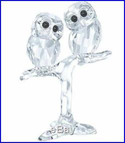 Swarovski Baby Owls, Birds Clear Crystal Authentic MIB 5249263