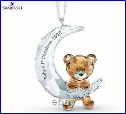 Swarovski Babys 1st Christmas Ornament 2020 MIB #5533941