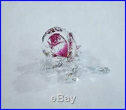 Swarovski Blossoming Rose, LOVE Ruby/Clear Crystal Authentic MIB 5248878