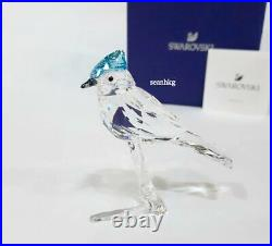 Swarovski Blue Jay, Bird on Branch Blue/Clear Crystal Authentic MIB 5470647