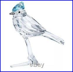 Swarovski Blue Jay on Crystal Branch Figurine Decoration 5470647