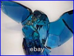 Swarovski Blue Parrots 5136775 Retired Bnib