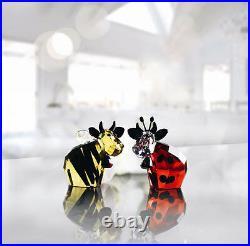 Swarovski Bumblebee & Ladybird Mo Brand New In Box #5136457 Ladybug Cute F/s