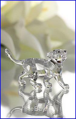 Swarovski Clear Crystal Figurine Animal LION CUB #1194148 New