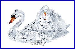 Swarovski Clear Crystal Figurine GRACEFUL SWAN, Large 1141713 New