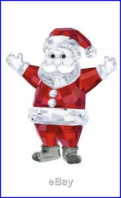 Swarovski Clear Crystal Figurine Santa Claus #5291584