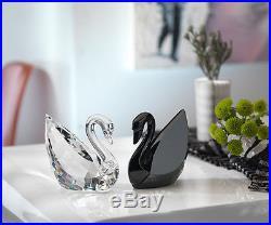 Swarovski Clear Crystal Figurine Soulmates SWAN Large #1075309 BRAND NEW IN BOX