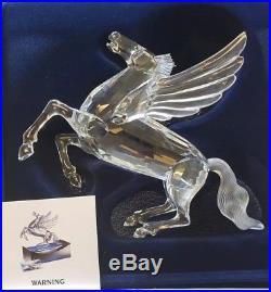 Swarovski Collectors Society 1998 Fabulous Creatures The Pegasus