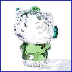 Swarovski Color Crystal Figurine HELLO KITTY LUCKY CHARM #5268840 New