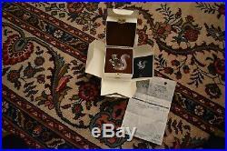 Swarovski Crystal 10th Anniversary Edition THE SQUIRREL COA BOX SLEEVE 208433