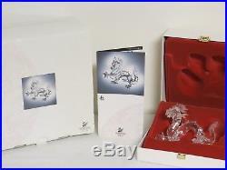 Swarovski Crystal 1997 FABULOUS CREATURES THE DRAGON MIB DO1X971